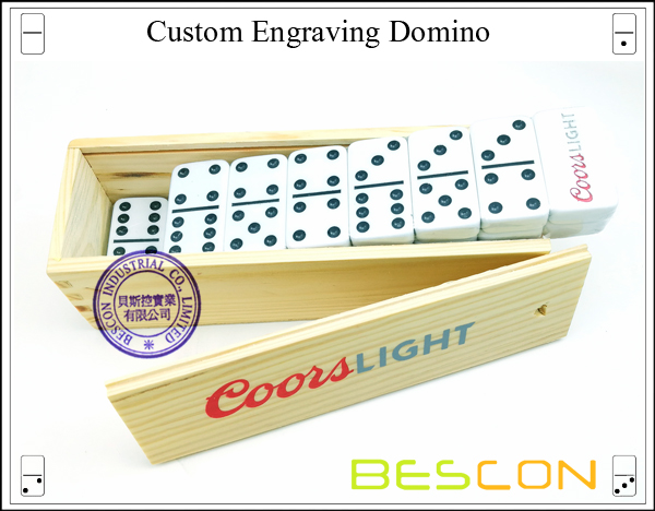 Custom Engraving Domino-5