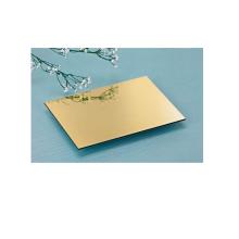 3/4mm gold mirror acm plate/acp sheet price/acm/acp