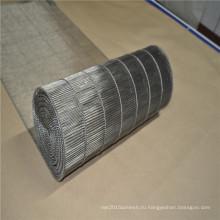 Проволока из нержавеющей стали сетки конвейерной ленты с лестницы