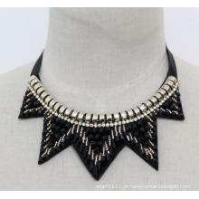 Moda feminina charme colar gargantilha de cristal (je0181)