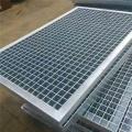 Plaque de grille en acier galvanisée / grille en acier de plancher surélevé