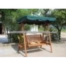 Acacia Juego de muebles de jardín / exterior de madera maciza - Hamaca swing