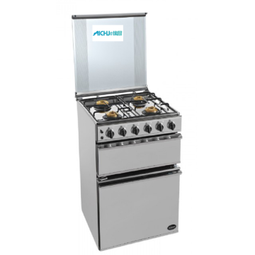 Sunflame SS Gas Oven Freestanding 4 Burner