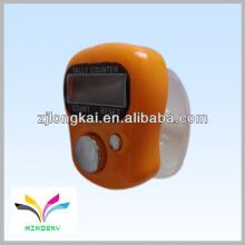 2013 fasional regalo promocional muselina de color naranja electrónica digital dedo manual musulmanes tally counter