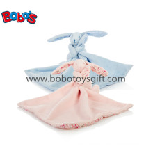 Soft Plush Stuffed Rabbit Toy with Comforter Blankie with CE Bosw1019-1020