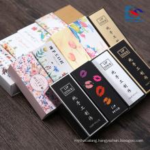 hot sale handmade custom logo printed lipstick packaging box