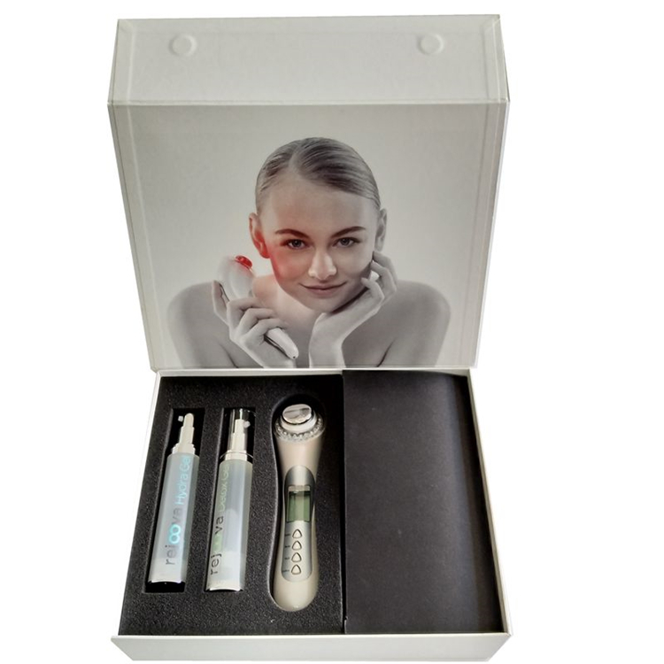 White Cardboard Women Skin Care Gift Box