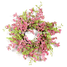 "Flora Decor Berry Wreath 20 ""/ 15"" Pastel Spring Wreath"