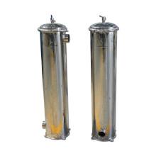 Boîtier de crépine de cartouche d'eau de micron d'acier inoxydable pour la nourriture industrielle