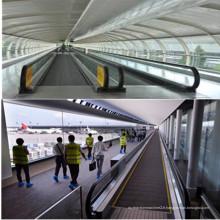 Chaussée mobile de supermarché d'aéroport de passager de 10 degrés 0.5m / S
