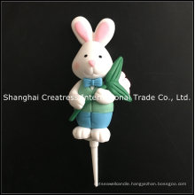 Global Market Cake Decoration Polymer Clay Easter Ornaments for Sale