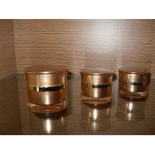 Pot de 15ml 30ml 50ml Radian or forme crème crème bouteille