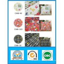 100% coton imprimé tissu de toile de bande dessinée en stock pour les sacs et chaussures poids 180GSM largeur 150cm