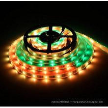 Lumière de bande de rêve DC12V 5M WS2811 RVB LED, imperméable 150 Pixel 30Leds 5050 SMD adressable programmable pour la décoration