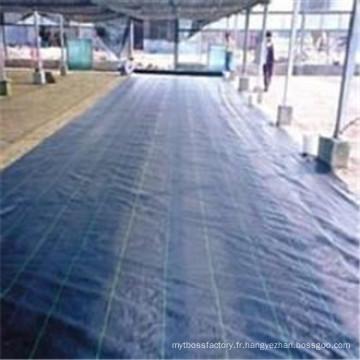 Couverture de sol de pp, couverture de sol agricole imperméable, tissu de couverture de sol en plastique