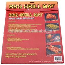 "Premium Non-stick & Reutilizáveis churrasqueira Grill Mat / Grilling Sheet - PFOA-FREE PTFE 13 ""x 15,75"" conjunto de 2"