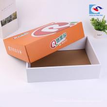 Cajas de regalo de empaquetado corrugado de la fruta a todo color de encargo libre de la muestra