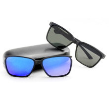 Fashion Sunglasses with Detachable Lens Frames and Temples