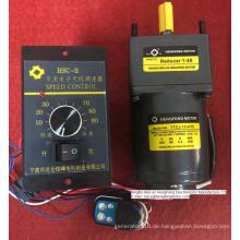 Induktions-Wechselstromgetriebemotor mit Fernbedienung