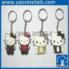 Hello Kitty Enamel keychain