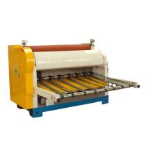 Single knife blade sheet cutter machine for corrugated cardboard