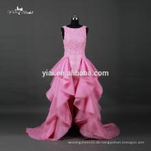 RQ067 Schatz Organza Tiered Rock Günstige Alibaba Rosa Brautkleider Made in China