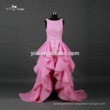 RQ067 Sweetheart Organza Tiered Skirt Cheap Alibaba Pink Wedding Dresses Made In China