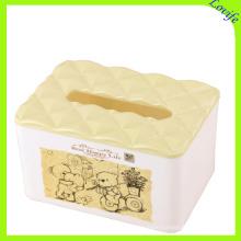 Plastic Diamond Top Cartoon Tissue Boxes (FF-5078-3)