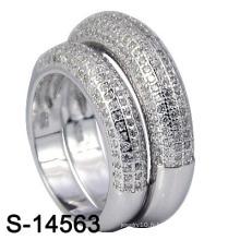 Bijouterie à la mode 925 Sterling Silver Wedding Ring (S-14563. JPG)
