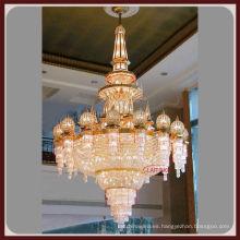Gran lámpara hecha a medida para el lobby del hotel