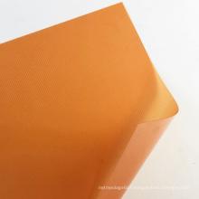 China Manufacturer A4 Size Rigid Orange PP Plastic Binding Cover Sheet