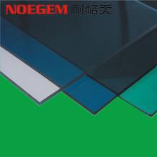 Colorida lámina de plástico PC de policarbonato