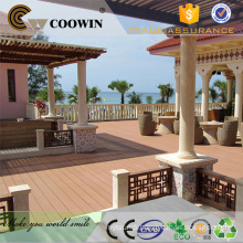 Outdoor balcony flooring wood plastic wpc cheap decking board China manufactuers/suppliers/factory