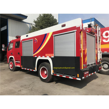 2 ton water foam fire truck