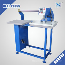 High-efficiency Fullly Automatic Head Move Pneumatic Dual Working Stations Heat Press Machine