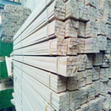Paulownia Finger Joint Triangle Wood Strips Angle Fillet