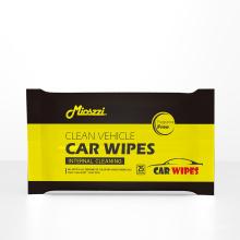 Nettoyage des lingettes humides parfumées pour voiture