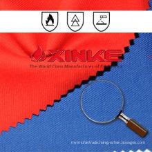 flame retardant cotton/polyester fabric cvc 60/40 for garment