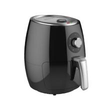 Fritadeira de ar com interruptor rotativo 2,5L
