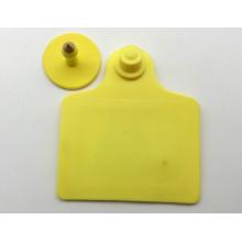 Plastic animal ear tag for sheep and livestock