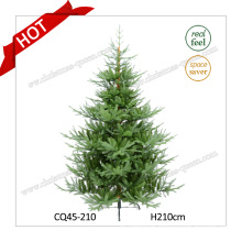2017 High Quality Outdoor Plastic Collapsible Christmas Tree Wholesale H8FT