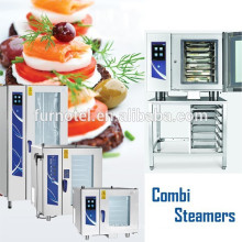 2017 Hot Sale Commercial Gas / Electric Combi Steam Oven