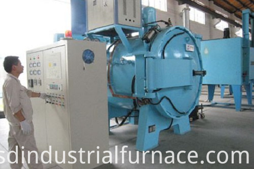 Horizontal Vacuum nduction Furnace