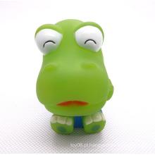Brinquedos do bebê do bebê do sorriso do PVC do animal