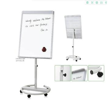 Office Mobile White Flip Chart Bewegliches Whiteboard mit Staffelei