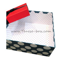 Tela de seda / Offset Print Cardboard Box for Cake