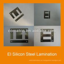 Hoja de acero de silicio de IE