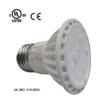 White cover high quality led lights UL cUL approved PAR16 5W led spotlight in 120V
