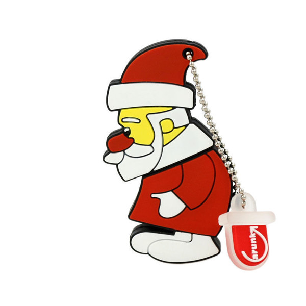 Christmas Santa Clause USB Flash Drive