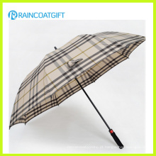 Guarda-chuva de chuva reta ao ar livre de manta de moda